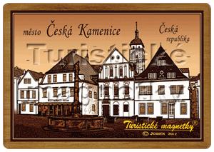 ČESKÁ KAMENICE-NÁMĚSTÍ